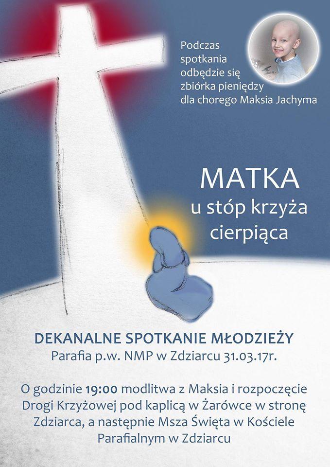Plakat - dk Zdziarzec 2017